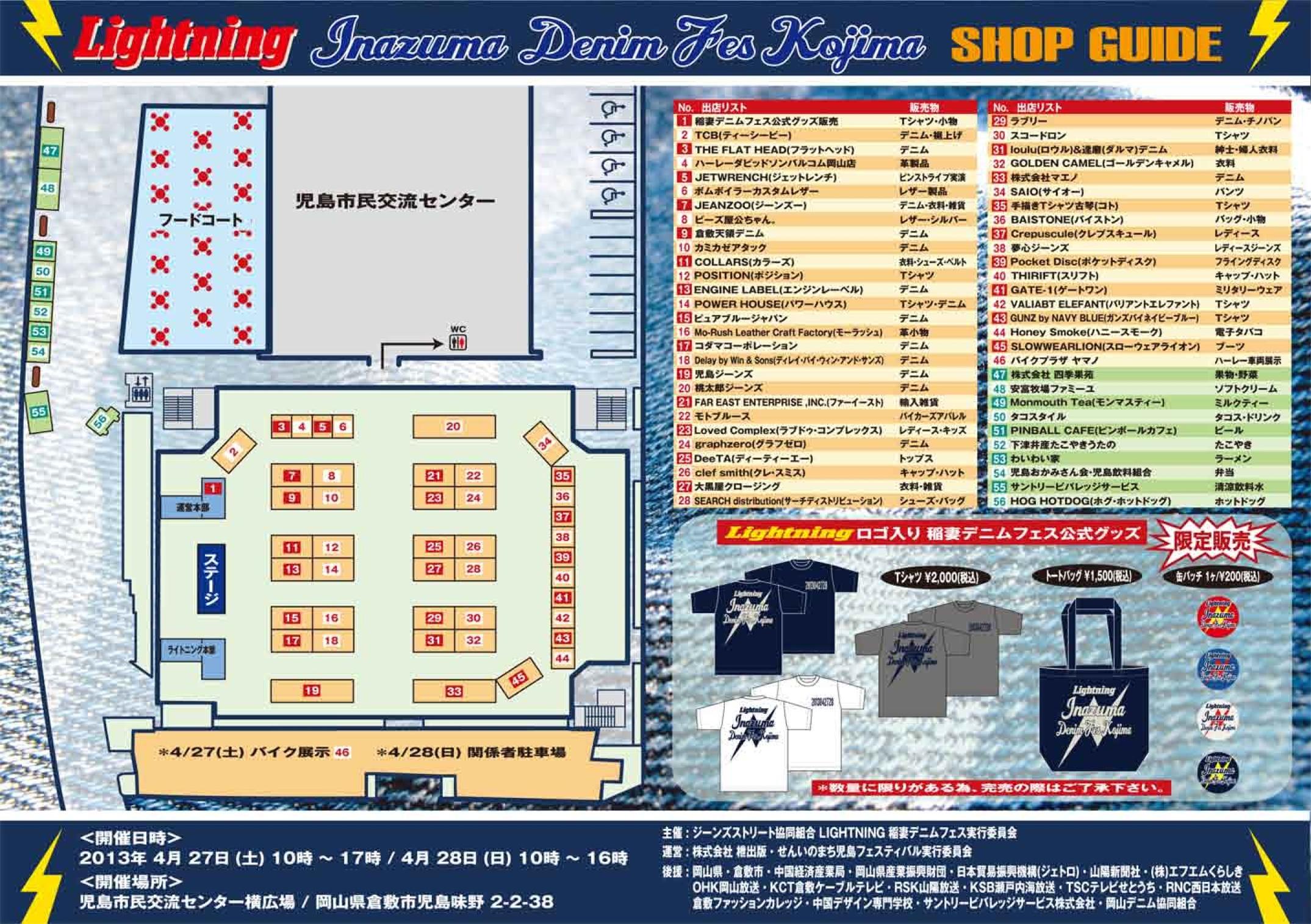 稲FESマップ表